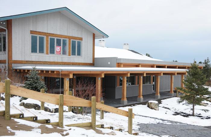 Osler Bluff Ski Storage Centre