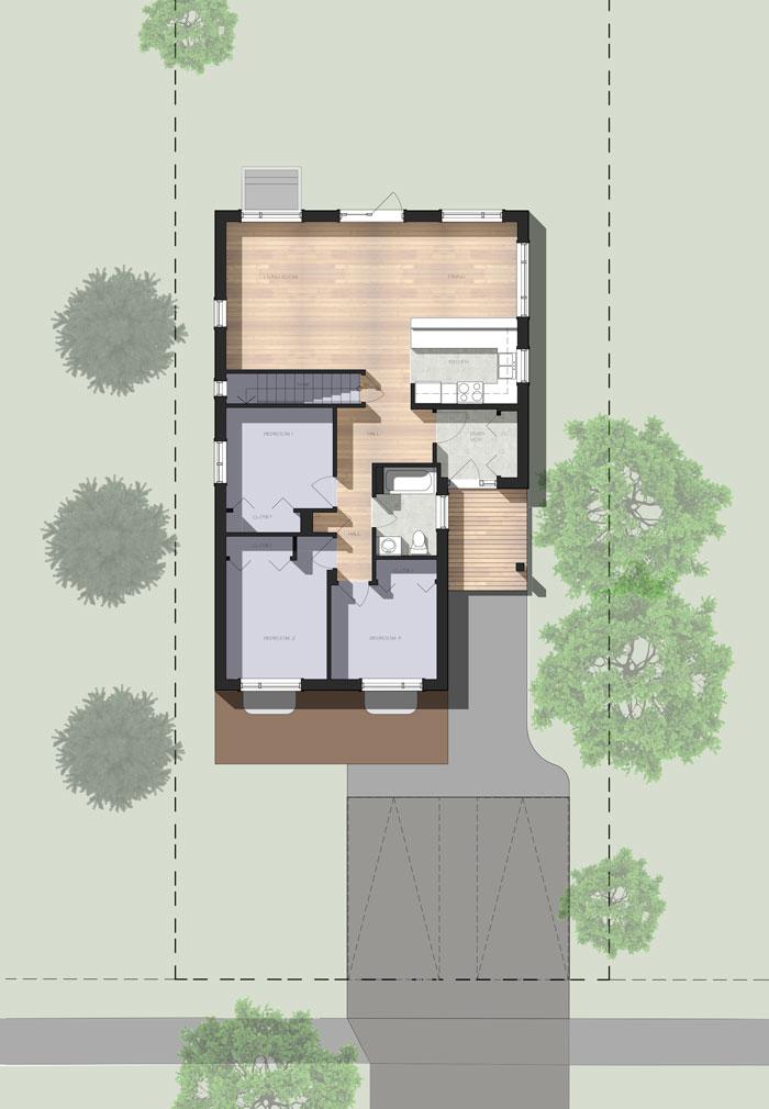 Habitat for humanity house 3stones architecture design for Habitat for humanity home plans